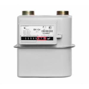 Cчётчики газа ВК-G4; ВК-G2,5; ВК-G1,6; ВК-G1,6T; ВК-G2,5Т; ВК-G4Т с объемом измерительной камеры 1,2 литра
