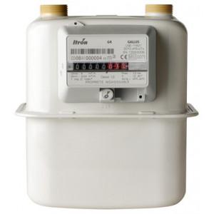 Cчетчик газа GALLUS G4, G2.5, G1.6, бытовой диафрагменный