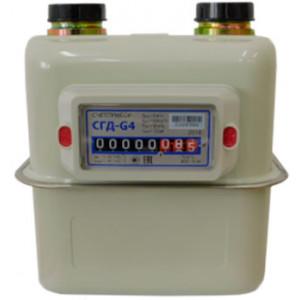 Бытовые диафрагменные счетчики газа СГД-G1,6 (G2,5; G4; G6) и СГД-G1,6T (G2,5T; G4T; G6T) ЗАО «Счетприбор» (Россия)